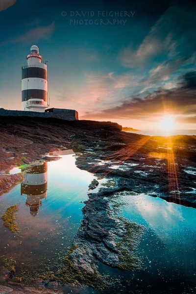 hook lighthouse by david feighery